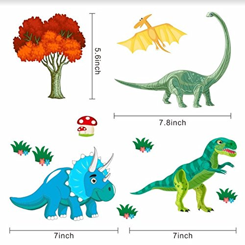 Review Dinosaur Wall Decals, Decorative