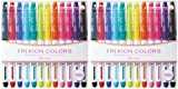 Pilot Frixion Colors Erasable Marker - 12 Color set/Value set Which Attached the Eraser Only for Friction (2 Pack)