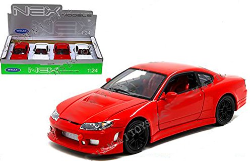 WELLY 1:24 DISPLAY - NISSAN SILVIA S-15 4PCS for sale  Delivered anywhere in USA