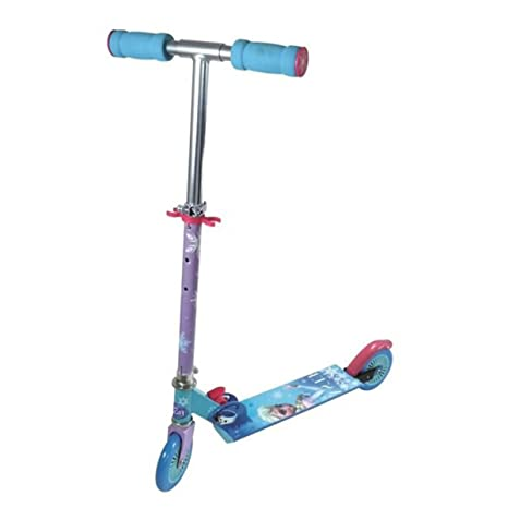 Frozen Scooter Patinete 2 ruedas Niñas Elsa: Amazon.es ...