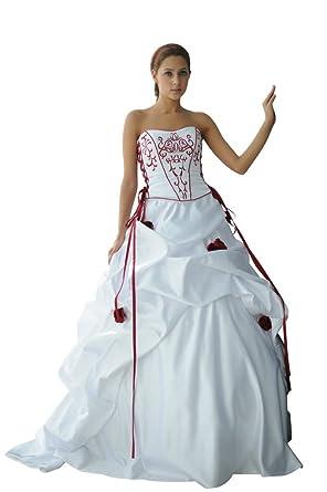 Hochzeits-shop-hamburg WD1019 Romatisches Brautkleid mit Schnürung ...