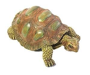 Jardín tortuga-Figura decorativa, 20cm de largo (10442)