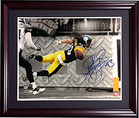 28fc6adfe Troy Polamalu Pittsburgh Steelers Autographed Signed 16x20 Framed Autographed  Signed Memorabilia - JSA Authentic