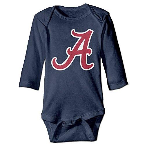 Price comparison product image OOKOO Baby's University Of Alabama Logo 4 Bodysuits Navy 6 M