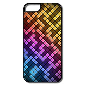 Designed Squares IPhone 5/5S Case Shell For Birthday Gift