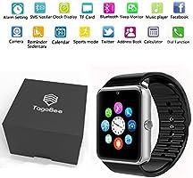 Reloj Inteligente Smart Watch Bluetooth Tagobee TB04 Tarjeta SIM Cámara Podómetro Whatsapp Notifications Compatible con Todos los teléfonos Android y ...