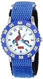 Marvel Comics Kids' W000103 Spider-Man Stainless Steel Time Teacher Watch