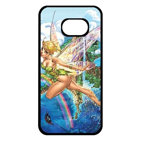 Samsung Galaxy S7 EDGE Phone Protector Cases Funny Tinkerbell (Tinkerbell Funny)