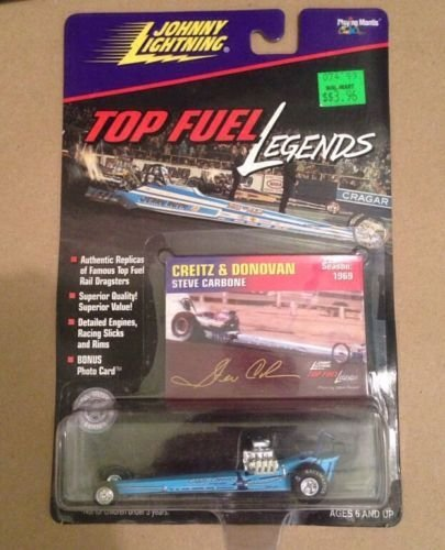 Johnny Lightning Racing Legends (Johnny Lightning - Top Fuel Legends - Jeb Allen - Praying Mantis - Season: 1974)