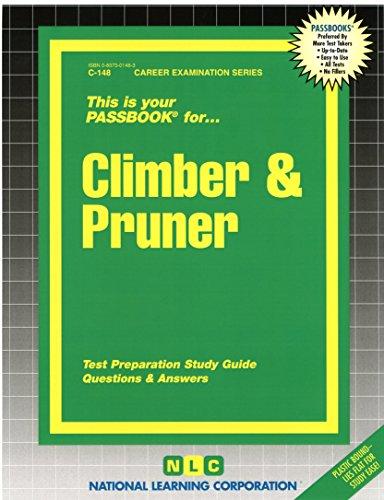 Climber and Pruner (Passbooks)