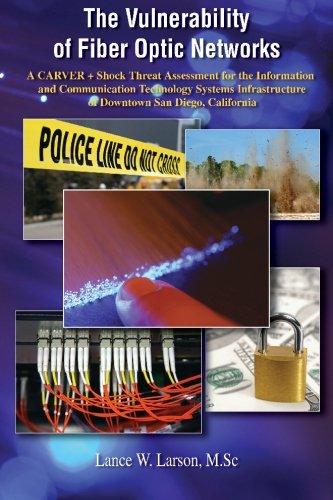 The Vulnerability of Fiber Optic Networks A CARVER + Shock Threat Assessment for the Information and Communication Technology Systems Infrastructure of Downtown San Diego, California [Lance Larson, Ph.D.] (Tapa Blanda)