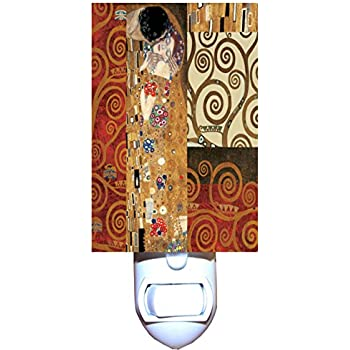 Amazon.com: Gustav Klimt Collage Decorativos Luz Nocturna ...