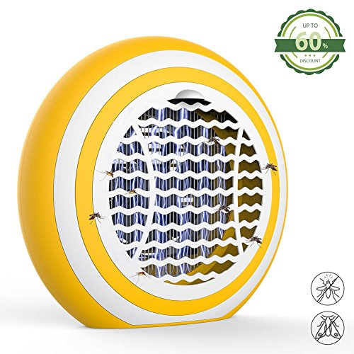 X-CHENG Bug Zapper-The Latest Shock photocatalyst Mosquito Lamps Plus  inhaled Full Purple Light-ABSmaterial-No Radiation-Insect Trap,Mosquito
