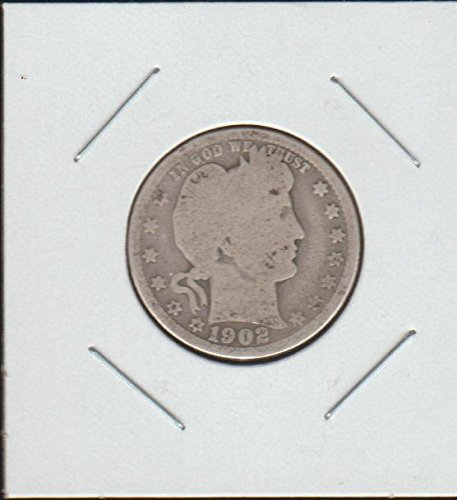 1902 Barber or Liberty Head (1892-1916) Quarter Good