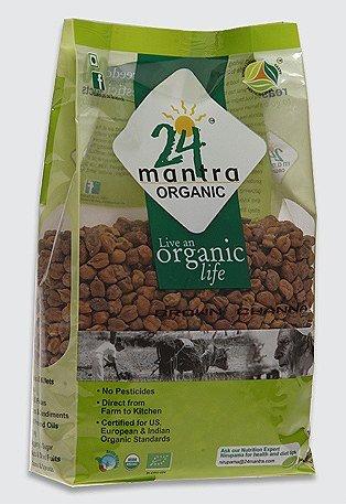 Organic Chana Dal Brown by 24 MANTRA