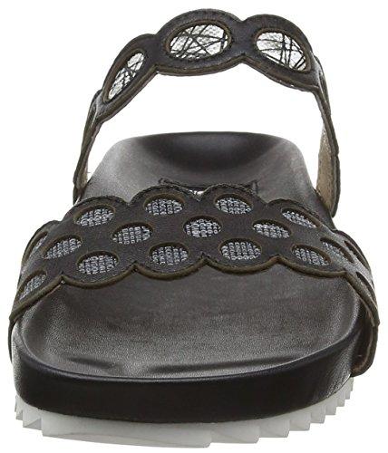 Giudecca 031-a - Pantuflas Mujer Negro