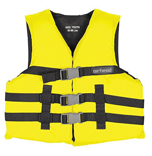 (AIRHEAD General Purpose Youth Vest, Yellow)