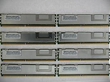 8x4GB PC2-5300 ECC FB-DIMM SERVER MEMORY RAM for Dell PowerEdge 2950 III 32GB