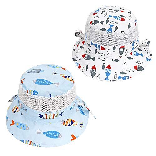 Toddler Baby Kids Summer Outdoor Sun Hat Floral Bucket Cap Beach Hat#cue