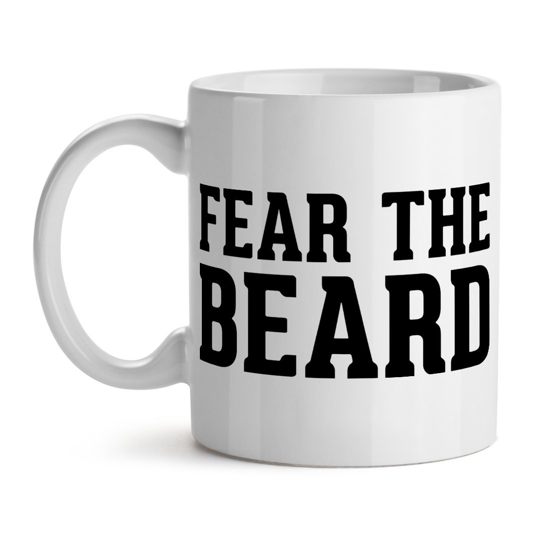 eea21d249ba8 Amazon.com  Fear The Beard Masculine Love Fashion Stylish Cool Quotw  Home    Kitchen