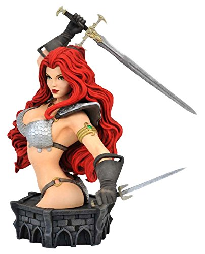 Dynamite Women of Dynamite Red Sonja by Arthur Adams Limited Resin Bust Diamond Comic Distributors SEP161553