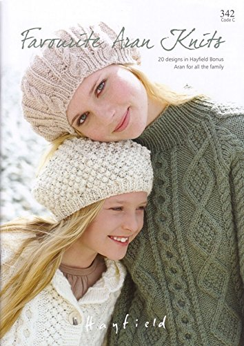 Sirdar Knitting Pattern Book Favorite Aran Knits Amazon