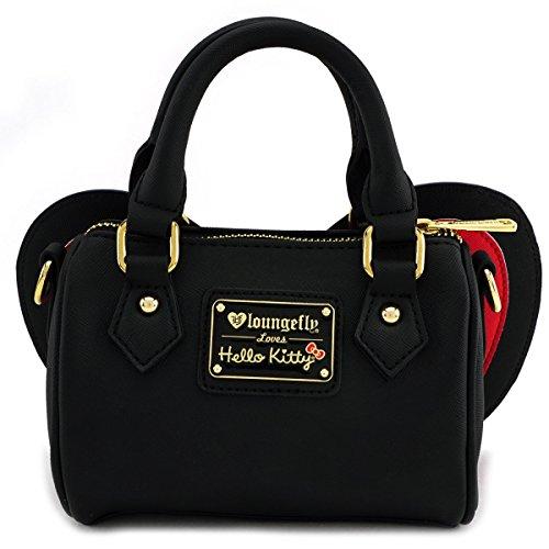 Loungefly Crossbody Bow Bag Hello Red x Black Kitty rxYFqrCw