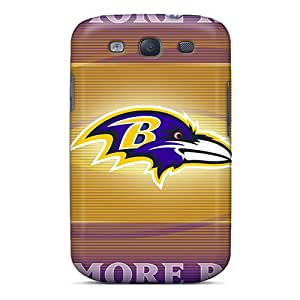 Protection Case For Galaxy S3 / Case Cover For Galaxy(baltimore Ravens)