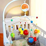Fisca Baby Musical Crib Mobile, Infant Bed