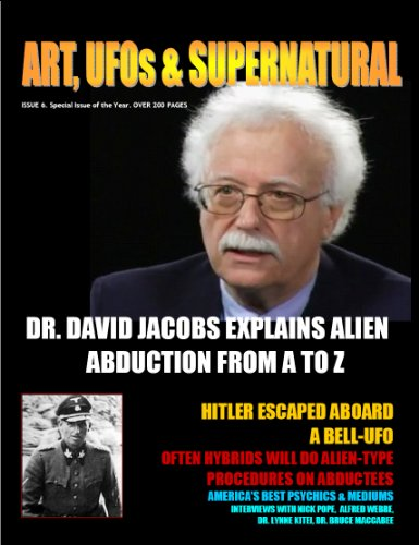 ART, UFOS & SUPERNATURAL MAGAZINE. ISSUE # 6 in FULL, used for sale  Delivered anywhere in USA