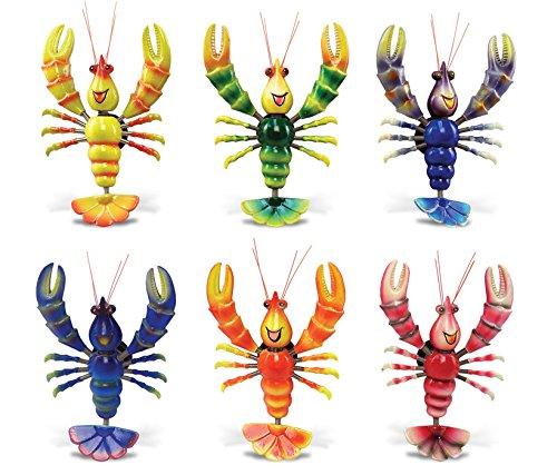 Funny Lobster - Refrigerator Bobble Magnet (Set of -