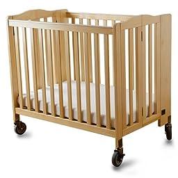 Simmons Simmons Foldaway Evacuation Crib -, Natural, Wood