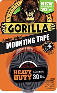 Amazon Com Gorilla 6055001 Heavy Duty Mounting Tape
