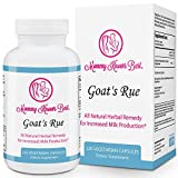 : Goat's Rue Lactation Aid Support Supplement for Breastfeeding Mothers - 120 Vegetarian Capsules