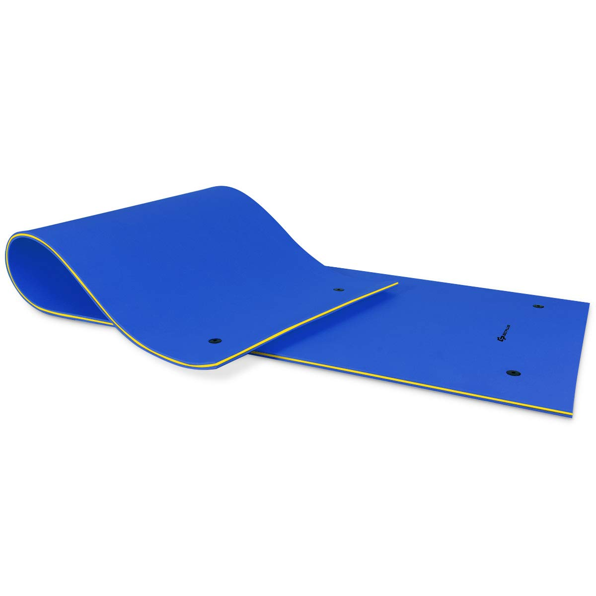 GOPLUS Floating Water Pad, 3 Layer Tear-Resistant XPE Foam,Bouncy and Durable Material, for Pool, Beach, Ocean, Lake
