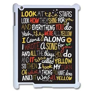 Customized Coldplay Lyrics Ipad 2,3,4 Case, Coldplay Lyrics DIY Case for iPad 2,iPad 3,iPad 4 at Lzzcase