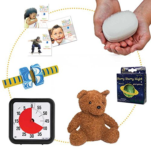 Bedtime Kit to Help Children Fall Asleep and Establish Good Sleeping Habits – 6 Calming Bedtime Tools – Ages 4+ by Fun and Function