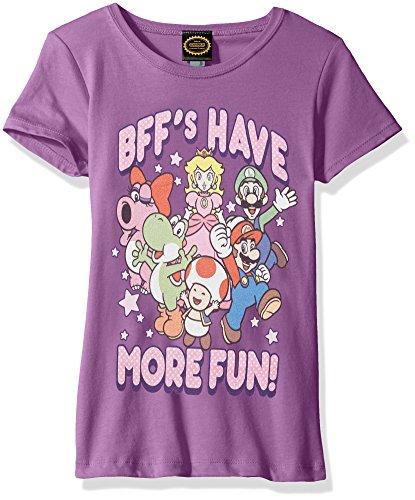 Nintendo Girls More Graphic T shirt