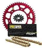 #9: Pro Taper Front & Rear Sprockets & PT520MX Chain Kit - Honda CRF450R, CRF450RX, CRF450X