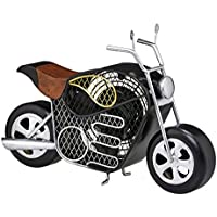 DecoBREEZE Table Fan Two-Speed Electric Circulating Fan, Motorcycle Figurine Fan
