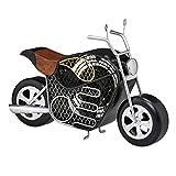 Decobreeze Decorative Table Fan, Desk Fan, Single Speed Electric Tabletop Fan, Figurine Fan, 4'', Motorcycle