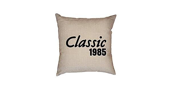 Hollywood - Funda de cojín de lino decorativo, diseño de ...