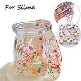 Vanvler Fruit Cake Slices SoftScented Stress Relief Toy Sludge Toys for Slime (B)