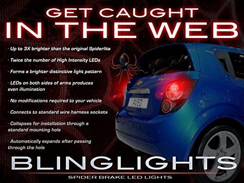 (BlingLights Custom LED Spider Light Bulbs for Chevrolet Sonic Tail)