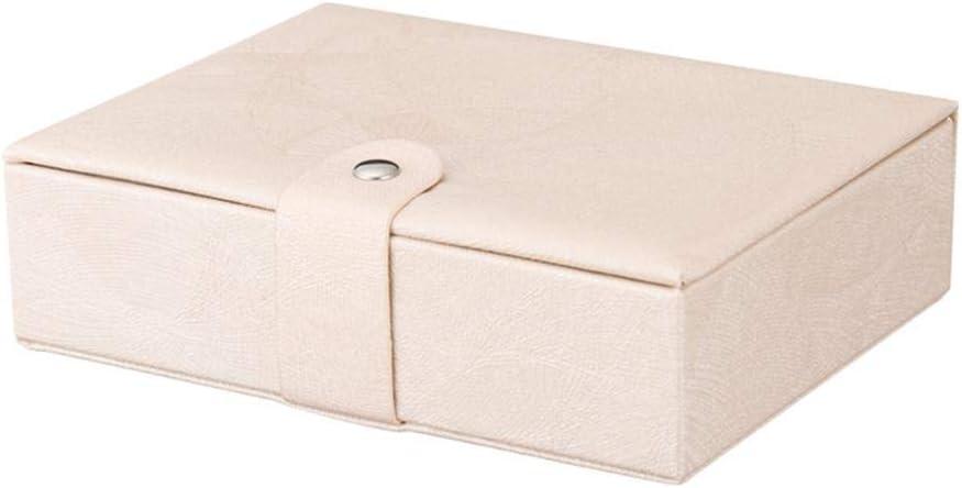 dreamitpossible Caja de Almacenamiento Piel sintética con Hebilla magnética de una Sola Capa, multifunción, Gran Capacidad, Caja de Regalo: Amazon.es: Hogar