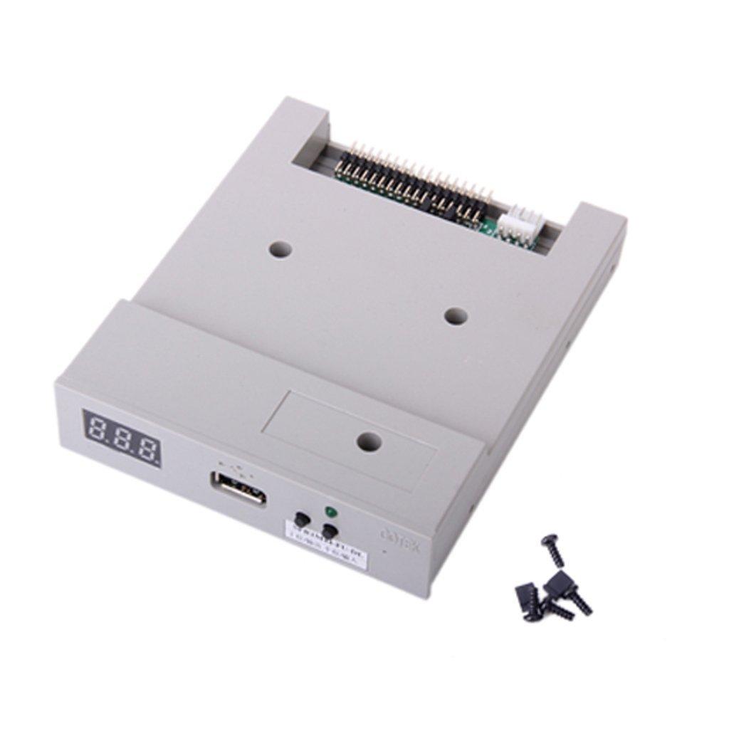 SFR1M44-FU-DL USB Floppy Drive Emulator -Gray by Generic