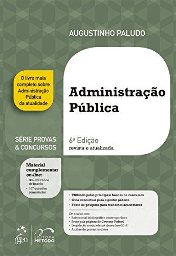 Administração Pública - Série Provas & Concursos