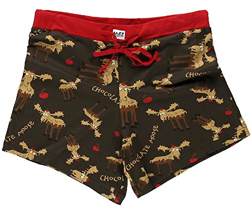 LazyOne Chocolate Moose Damen Boxer Short