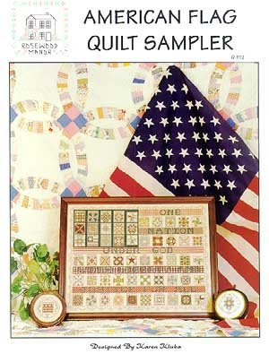 American Flag Quilt Sampler Cross Stitch ()