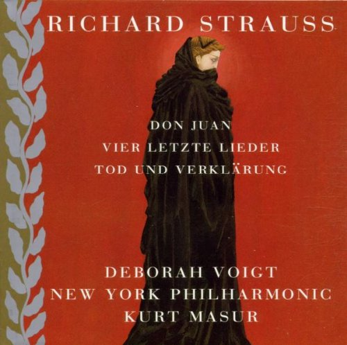 Strauss - Don Juan · 4 Letzte Lieder · Tod und Verklärung / Voigt · NYP · Masur by Teldec